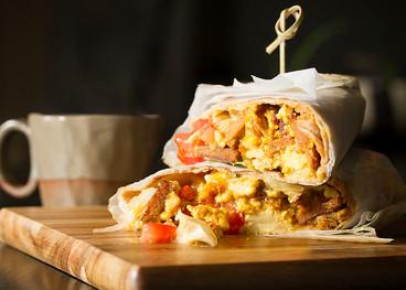 Gusta's Vegan Breakfast Burrito