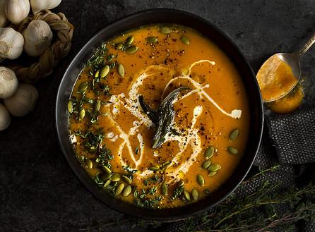 Vegan Sweet Butternut Squash Soup