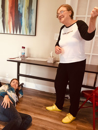 Teaching Principles of Drama Therapy at Center for Creative Arts Therapies - Downers Grove, Illinois