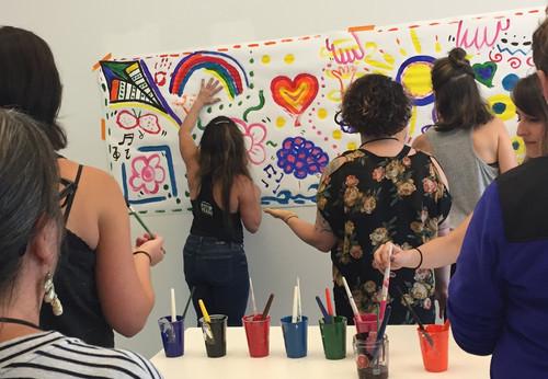 Inclusivity Exercise at Northwest Creative and Expressive Arts Institute - Seattle, Washington