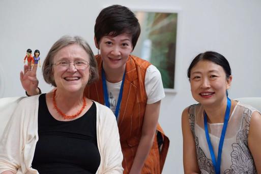With Lucy, program director & Jade, the interpreter - Shenzhen