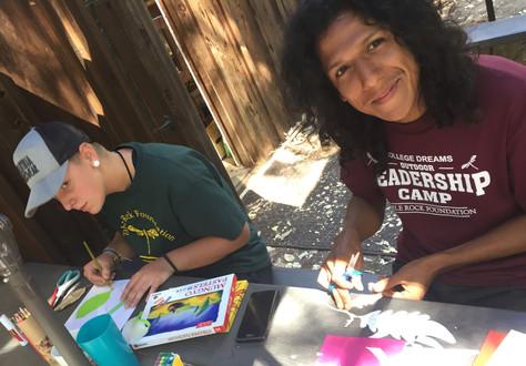 Activity at College Dreams Leadership Camp - Grants Pass, Oregon