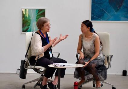 With interpreter Jade - Shenzhen
