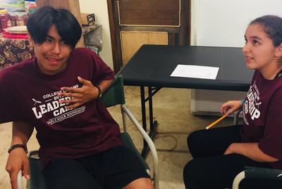 Developing Personal Narrative at College Dreams Leadership Camp - Grants Pass, Oregon