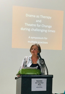 Delivering Keynote at Drama Therapy Symposium - Portland