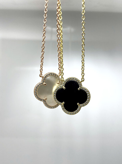 Sterling Silver Small Clover Pendant