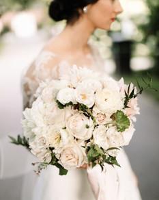 Lush modern bouquet