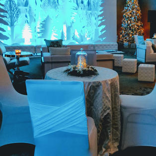 Custom linen and chair covers