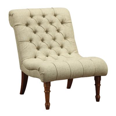 Cream side chair