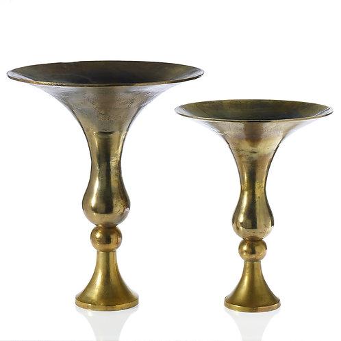 Metal Gold Vase