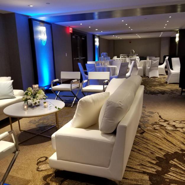 Mezzaine with Lounge furniture