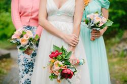 Peach and Mint Wedding