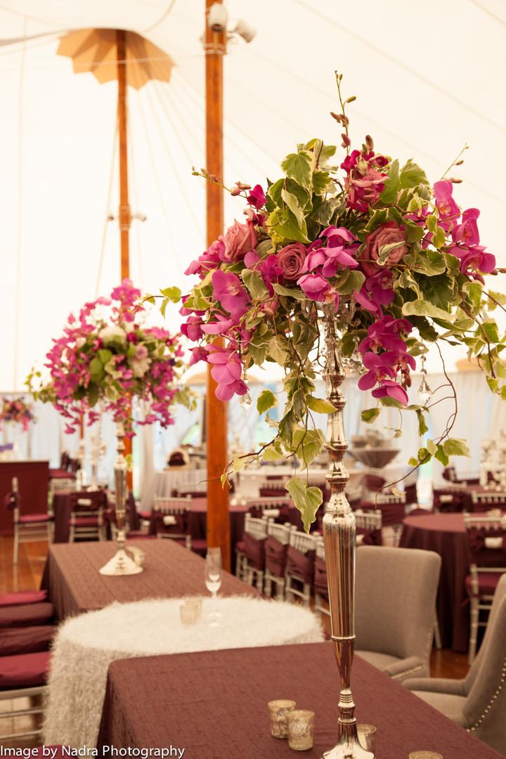 Tall purple and lavander floral