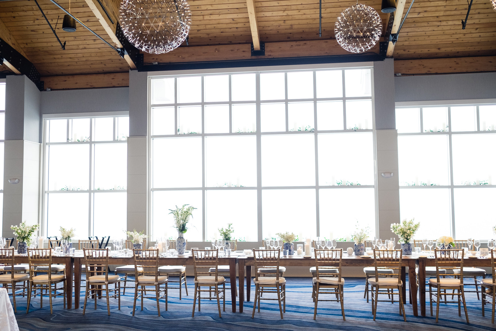 Cliff House Wedding Tablescape