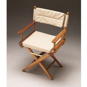 Wood director chairs