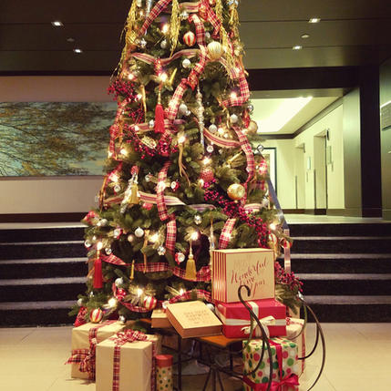Lobby Tree at the Westin