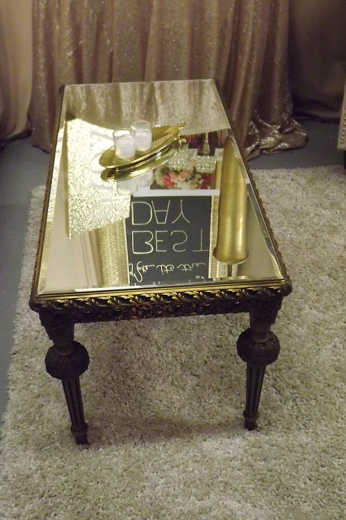 Vintage Gold coffee table