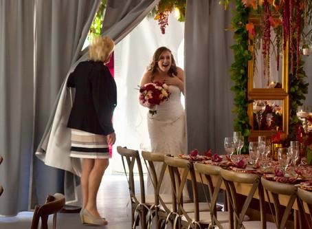 Inn on Peaks Fall Wedding