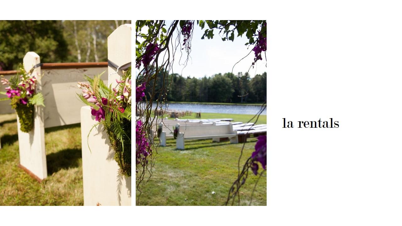 Maine wedding rentals