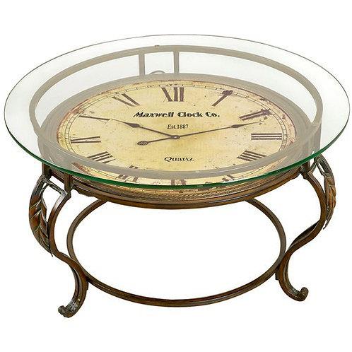 Clock coffee talble