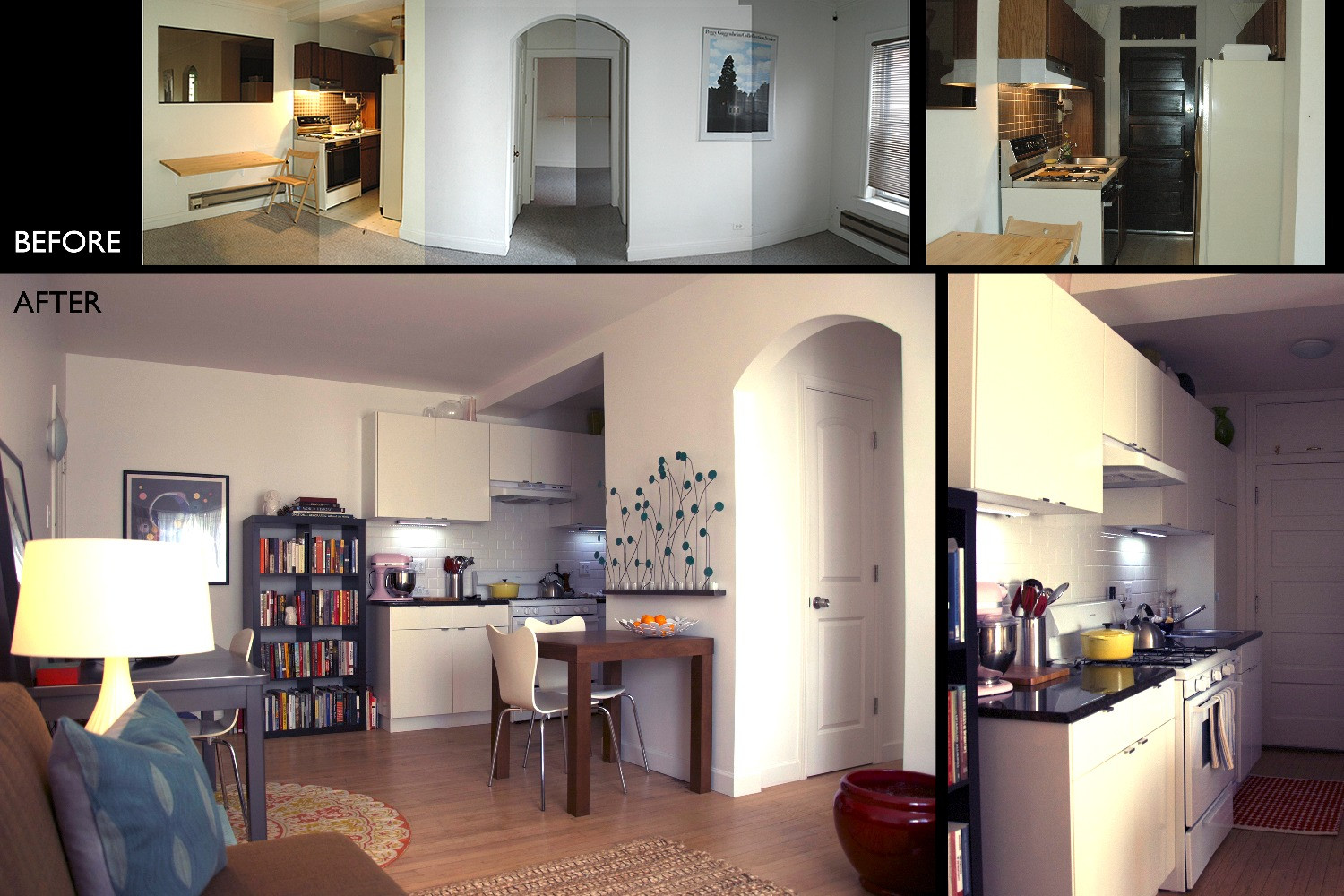 Kitchen _ Before and After