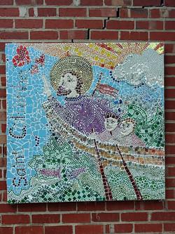 St Columba mosaic