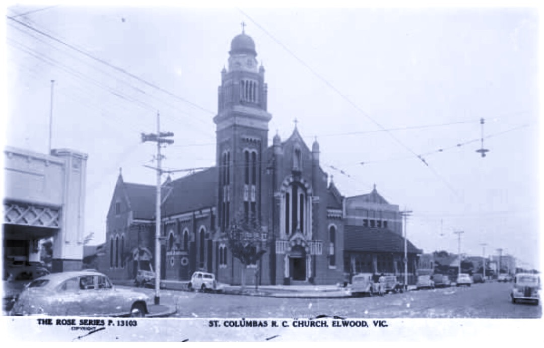 St Columba early days