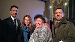 Roger, Alecia, Christine and Carlo