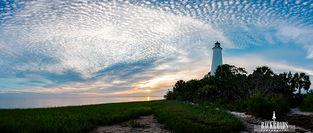 Mackerel Sky Sunset