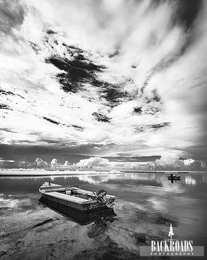 Oyster Boat Sky