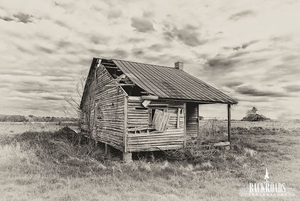 Old House in Sepia
