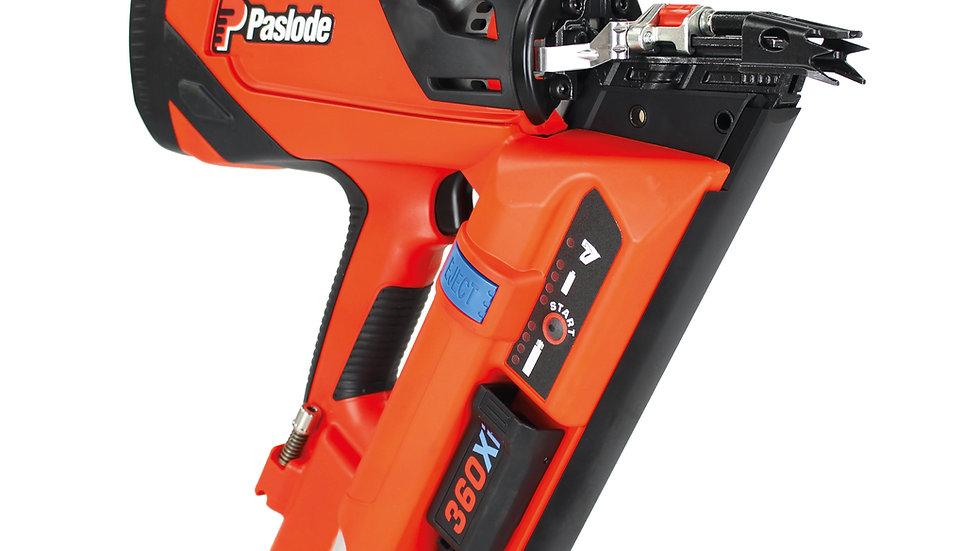 Paslode 360Xi Lithium Gas 90mm First Fix Framing Nail Gun