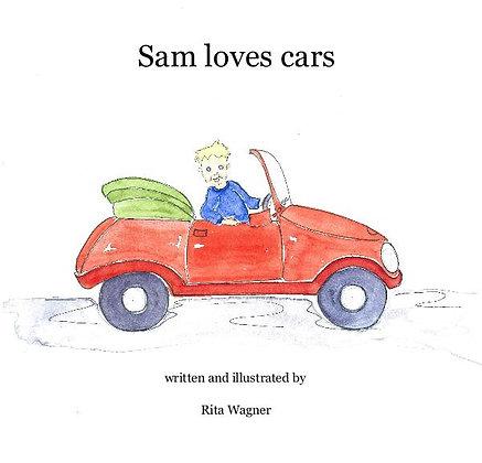 Sam loves cars