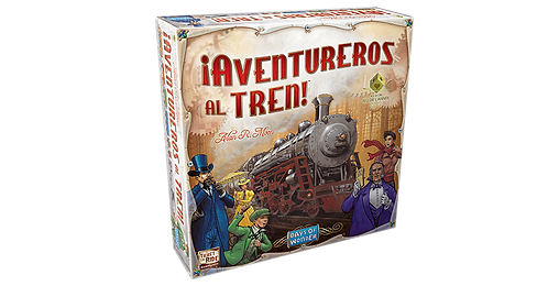 Juegos de Mesa ¡Aventureros al Tren! Clásico