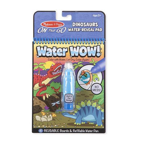 Libro para Pintar con Agua Dinosaurios