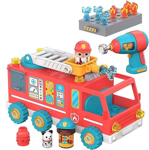 Construye Tu Camión De Bomberos STEM