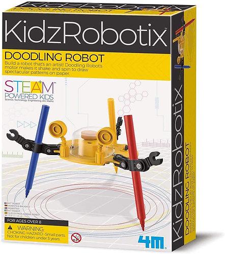 Experimento de juguete Robot Garabatos