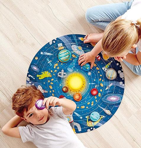 Rompecabezas Circular Sistema Solar