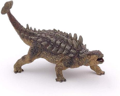 Dinosaurio Ankylosaurus Pintado a Mano