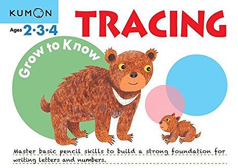 Libro Kumon Tracing Grow To Know