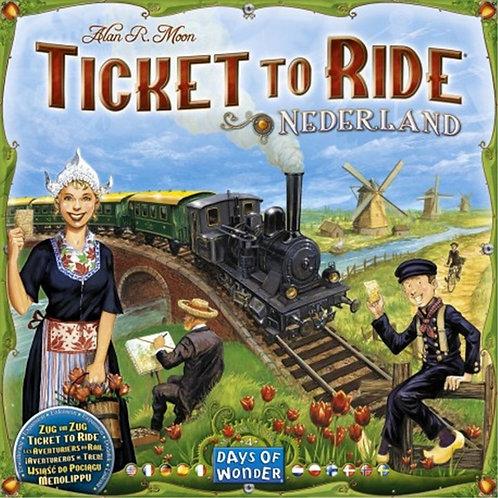 Juegos de Mesa ¡Aventureros al Tren! Países Bajos