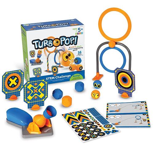Juego De Mesa STEM Turbo Pop!