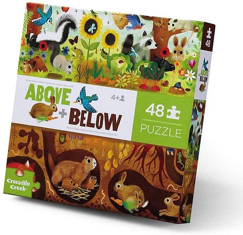 Rompecabezas 48 Piezas Animales del Bosque