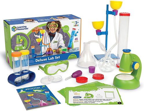 Set De Experimentos Científicos y Microscopio