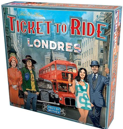 Juegos de Mesa Ticket To Ride Londres