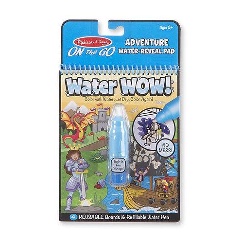 Libro para Pintar con Agua Aventura