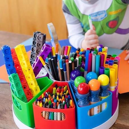 Seis pasos para organizar el espacio de trabajo de tus hijos