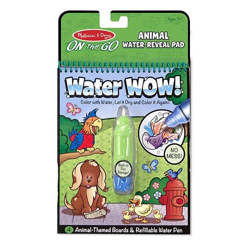 Libro para Pintar con Agua Mascotas