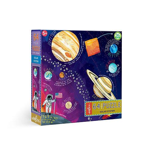 Rompecabezas 64 Piezas Sistema Solar