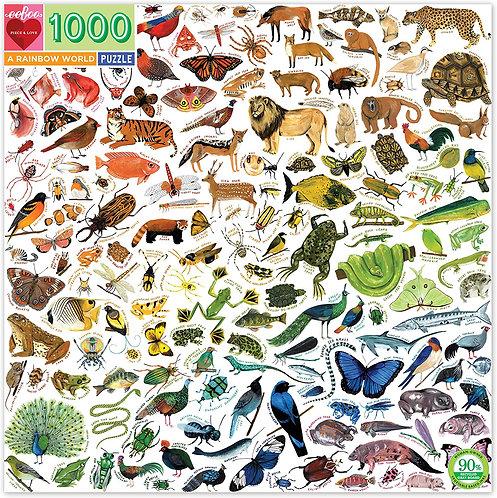 Rompecabezas 1.000 Piezas A Rainbow World